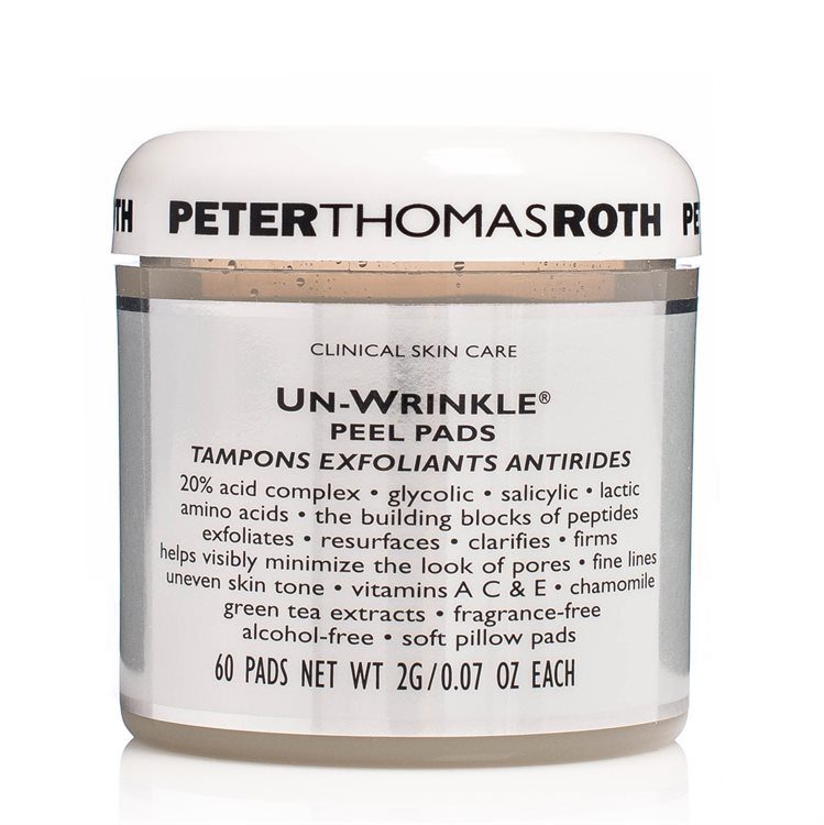 Peter Thomas Roth Un-Wrinkle Peel Pads (60 x 2 g)