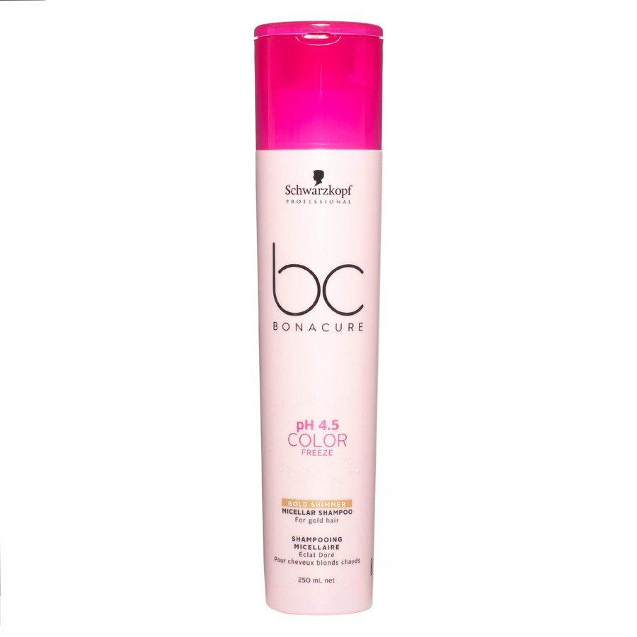 Schwarzkopf BC Bonacure Color Freeze Shampoo Golden Shimmer (250 ml)