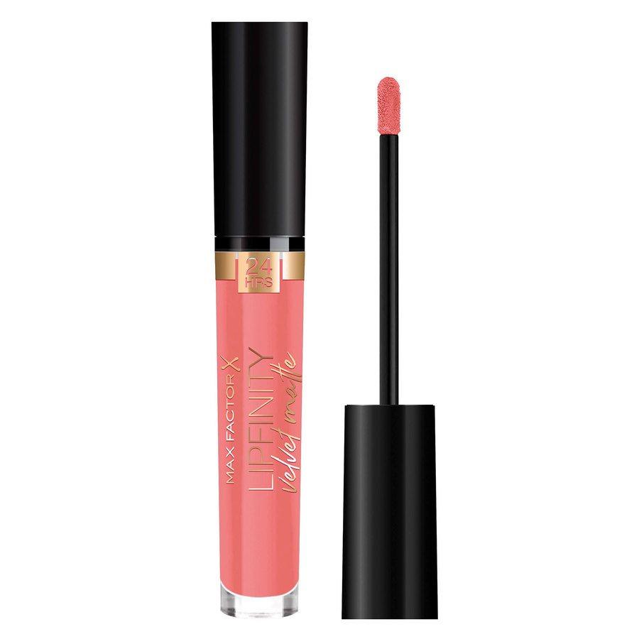 Max Factor Lipfinity Velvet Matte Lipstick, #30 Coolcoral (3,5 ml)