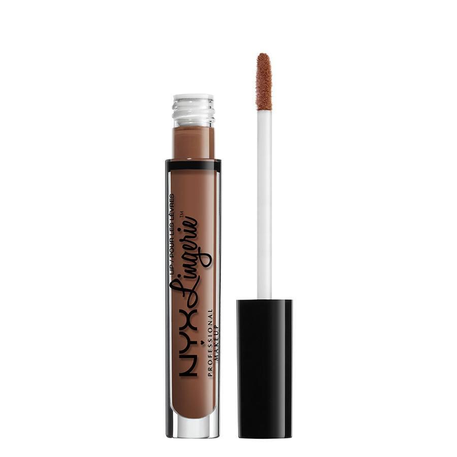NYX Professional Makeup Lingerie Liquid Lipstick, Teddy