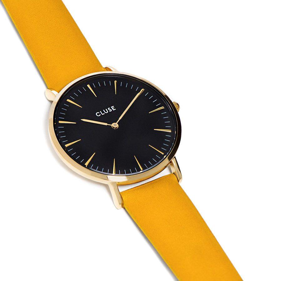 CLUSE La Bohème, Gold Black/Mustard CL18420