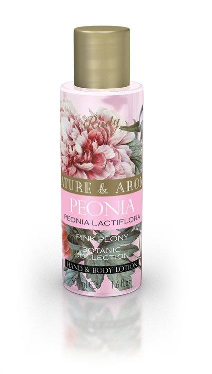 Nature & Arome Body Lotion (50 ml), Pink Peony