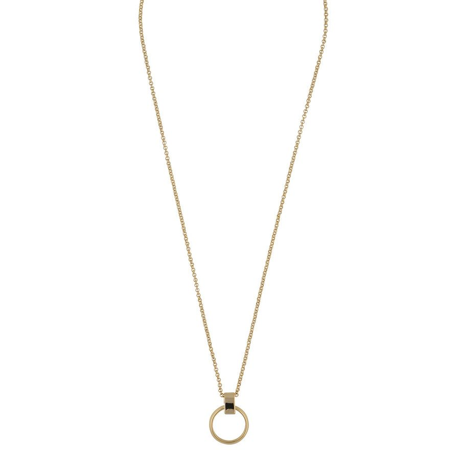 SNÖ of Sweden Gwen Pendant Neck Plain Gold 42cm