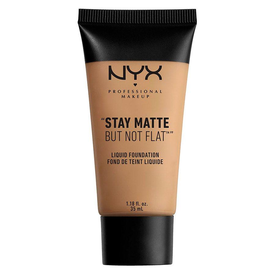 NYX Professional Makeup Stay Matte But Not Flat Liquid Foundation Caramel 35ml SMF10
