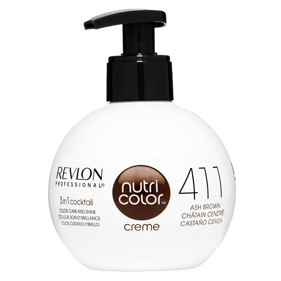 Revlon Professional Nutri Color Creme, #411 Ash Brown 270ml