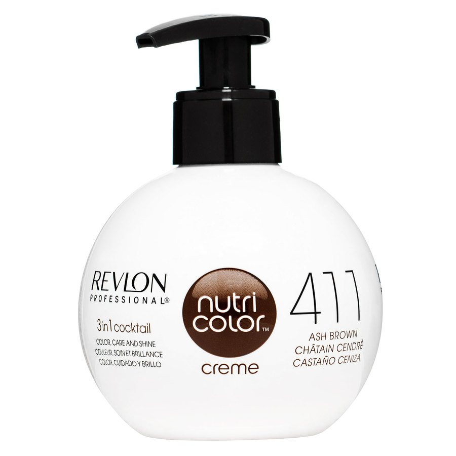 Revlon Professional Nutri Color Creme, #411 Ash Brown 270ml