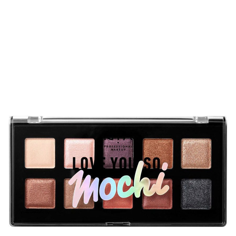 NYX Professional Makeup Love You So Mochi Palette, Shade 02