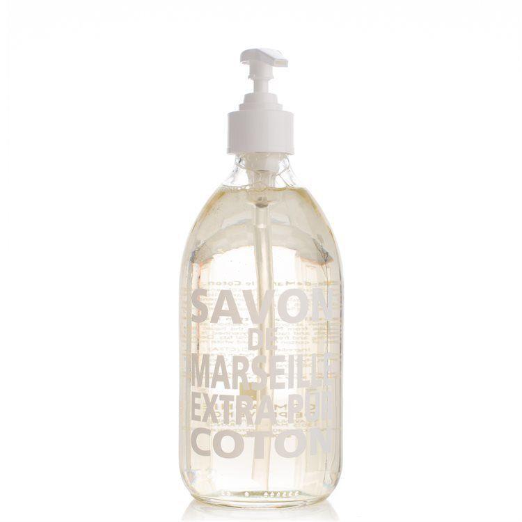Compagnie De Provence Liquid Soap Cotton Flower Glasflaske 500 ml