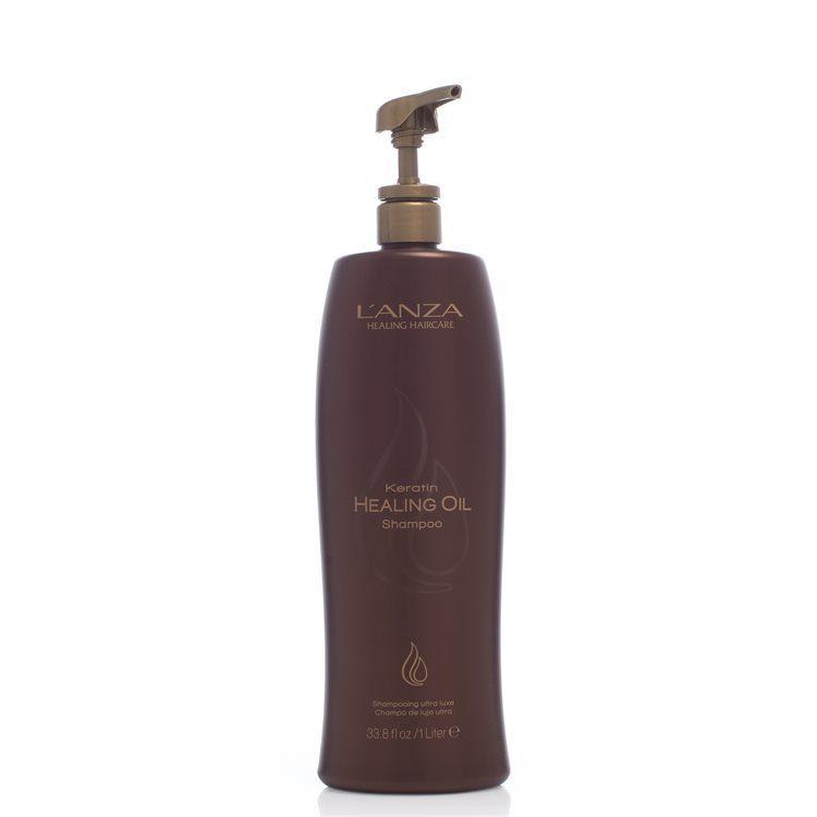 Lanza Keratin Healing Oil Shampoo (1000 ml)