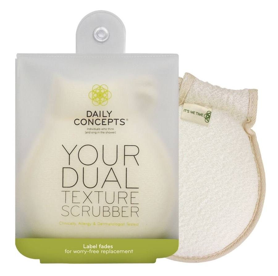 Daily Concept Your Dual Texture Scrubber DC2 – Peelinghandschuh
