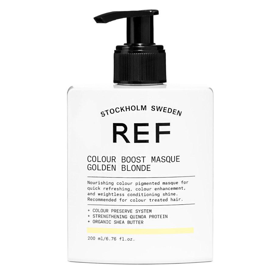 REF Color Boost Masque, Golden Blonde (200ml)