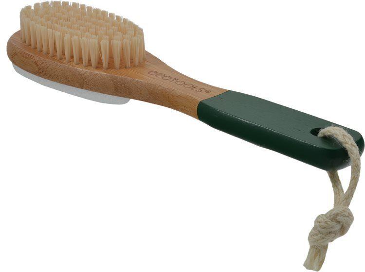 Eco Tools Bamboo Bambus-Fußbürste & Bimsstein
