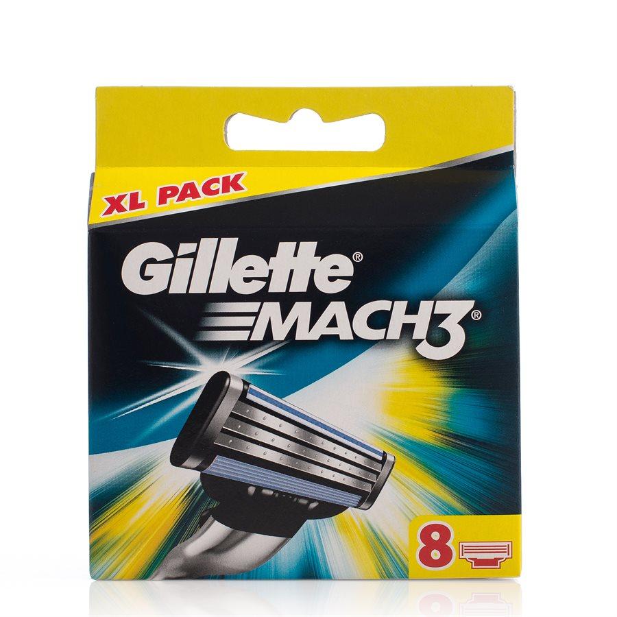 Gillette Mach 3 (8 Klingen)