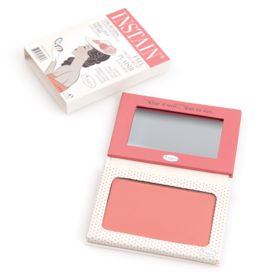 theBalm Instain Long Wearing Powder Blush, Swiss Dot (5,5 g)