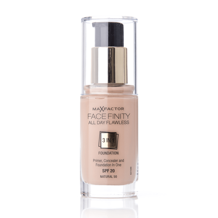 Max Factor Facefinity 3 In 1 Foundation (30 ml), 50 Natural