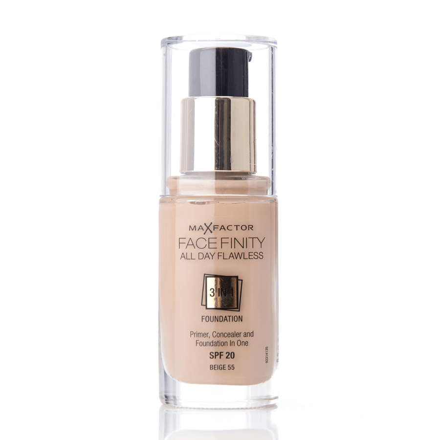 Max Factor Facefinity 3 In 1 Foundation (30 ml), 55 Beige