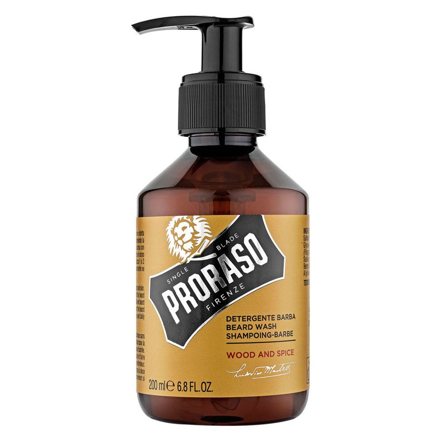 Proraso Beard Wash Wood And Spice (200 ml)