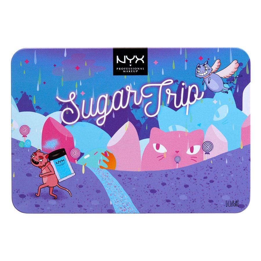 Nyx Professional Makeup Sugar Trip Glitter Vault Geschenkset
