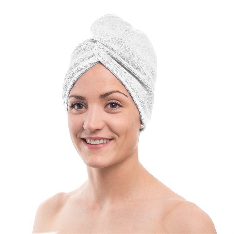 Shelas Head Towel Handtuch, weiß