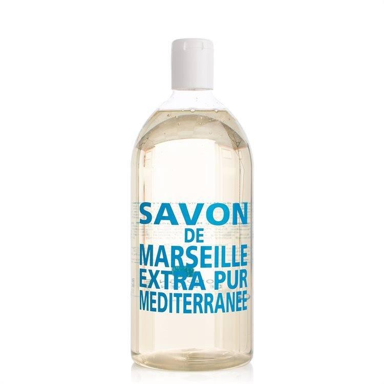 Compagnie De Provence Liquid Soap Refill Mediterranean Sea 1000 ml