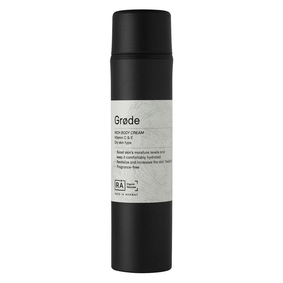 RÅ Organic Skincare Grøde Rich Body Lotion (150 ml)