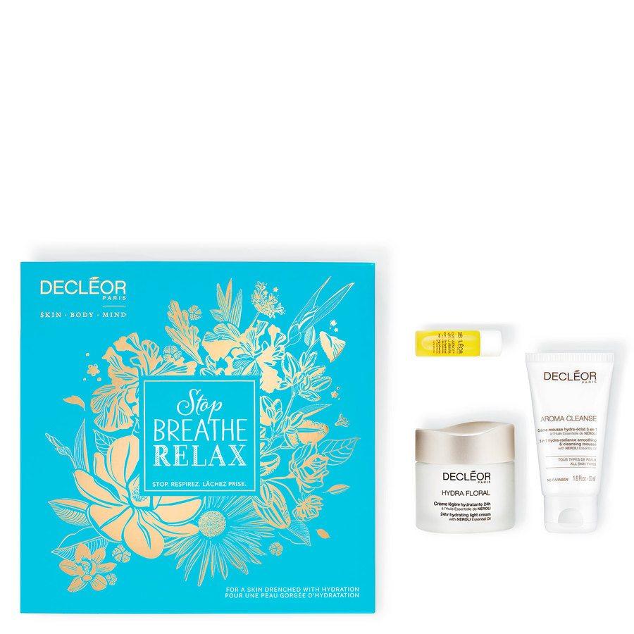 Decléor Stop Breathe Relax Hydration Kit Hydra Floral Geschenkset