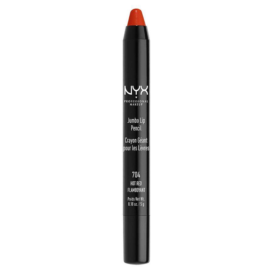 NYX Prof. Makeup Jumbo Lip Pencil 704 Hot Red