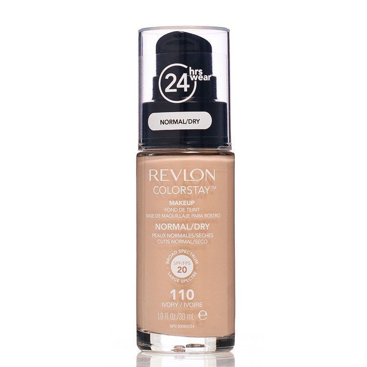 Revlon Colorstay Makeup Normal/Dry Skin, 110 Ivory