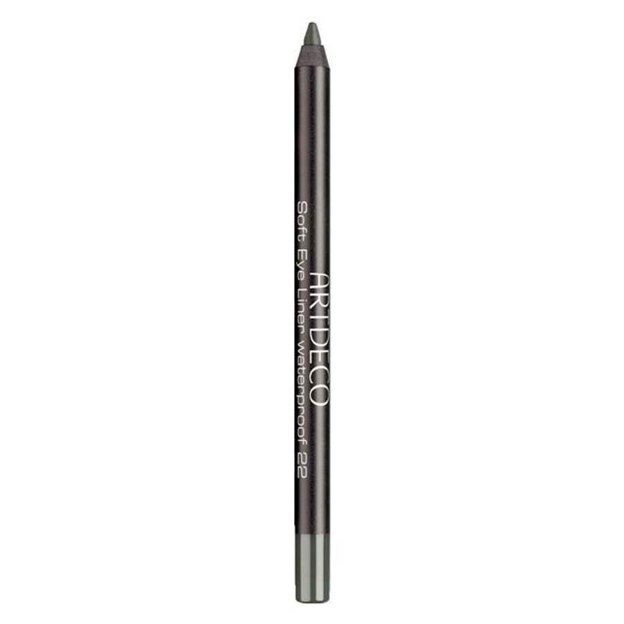 Artdeco Soft Eye Liner Waterproof, #22 Dark Grey Green