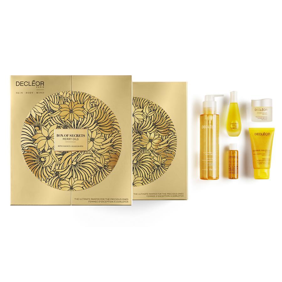 Decleor Merry Oils Premium Oil Box, Weihnachts-Set