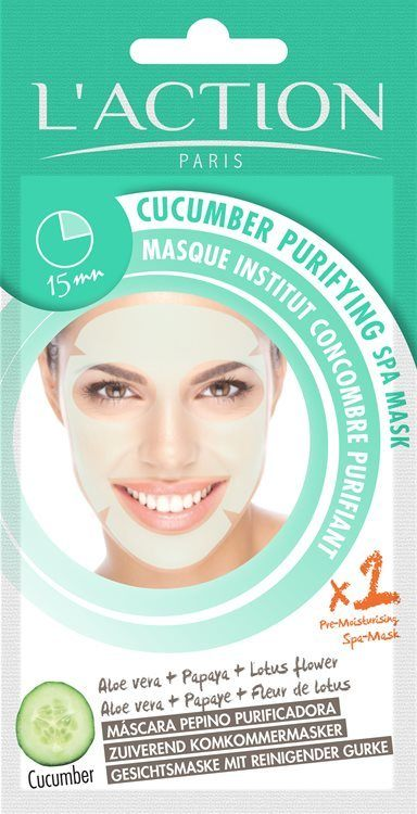 L'Action Paris Cucumber Purifying Spa Mask (26 g)