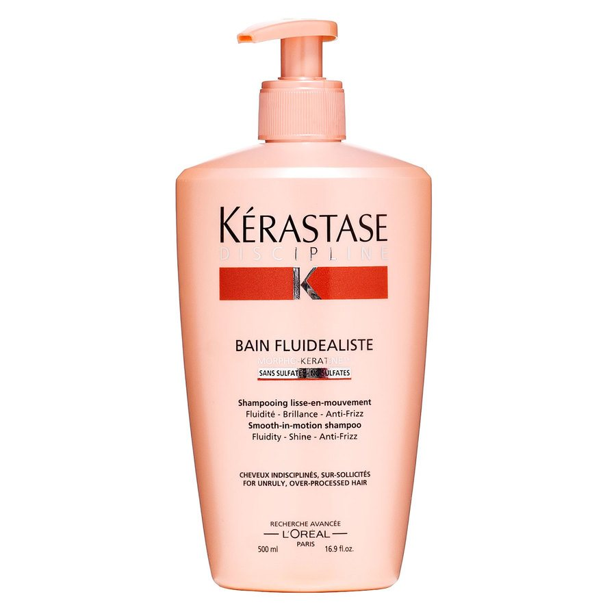 Kérastase Dicipline Bain Fluidealiste Smooth-In Motion Shampoo (500 ml)