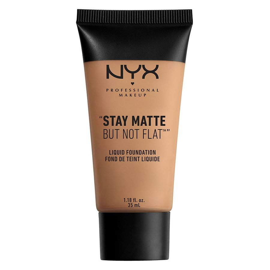 NYX Professional Makeup Stay Matte But Not Flat Liquid Foundation, Cinnamon Spice (35 ml)