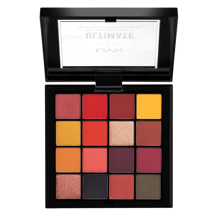 NYX Professional Makeup Ultimate Multi-Finish Shadow Palette 13,3g, 09 Phoenix