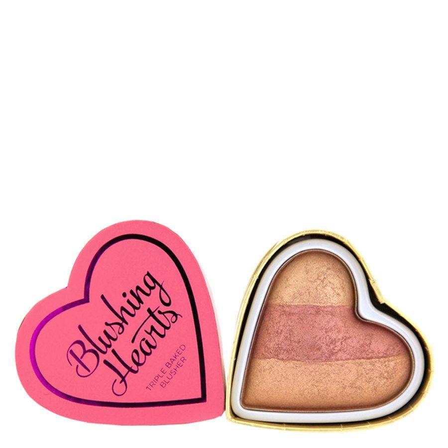 Makeup Revolution I Heart Makeup Hearts Blusher, Peachy Keen Heart