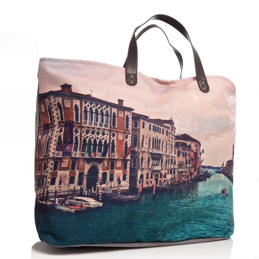 "Shelas große Strandtasche ""Venice"""