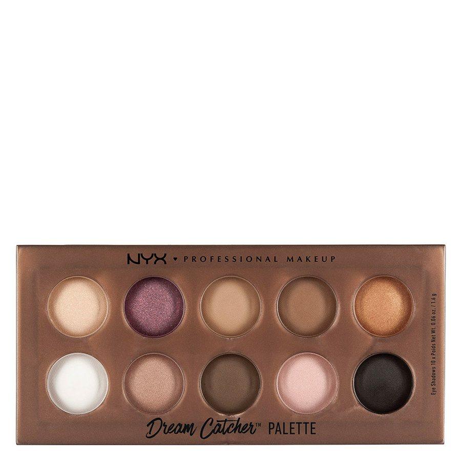 NYX Prof. Makeup Dream Catcher Shadow Palette, Golden Horizons