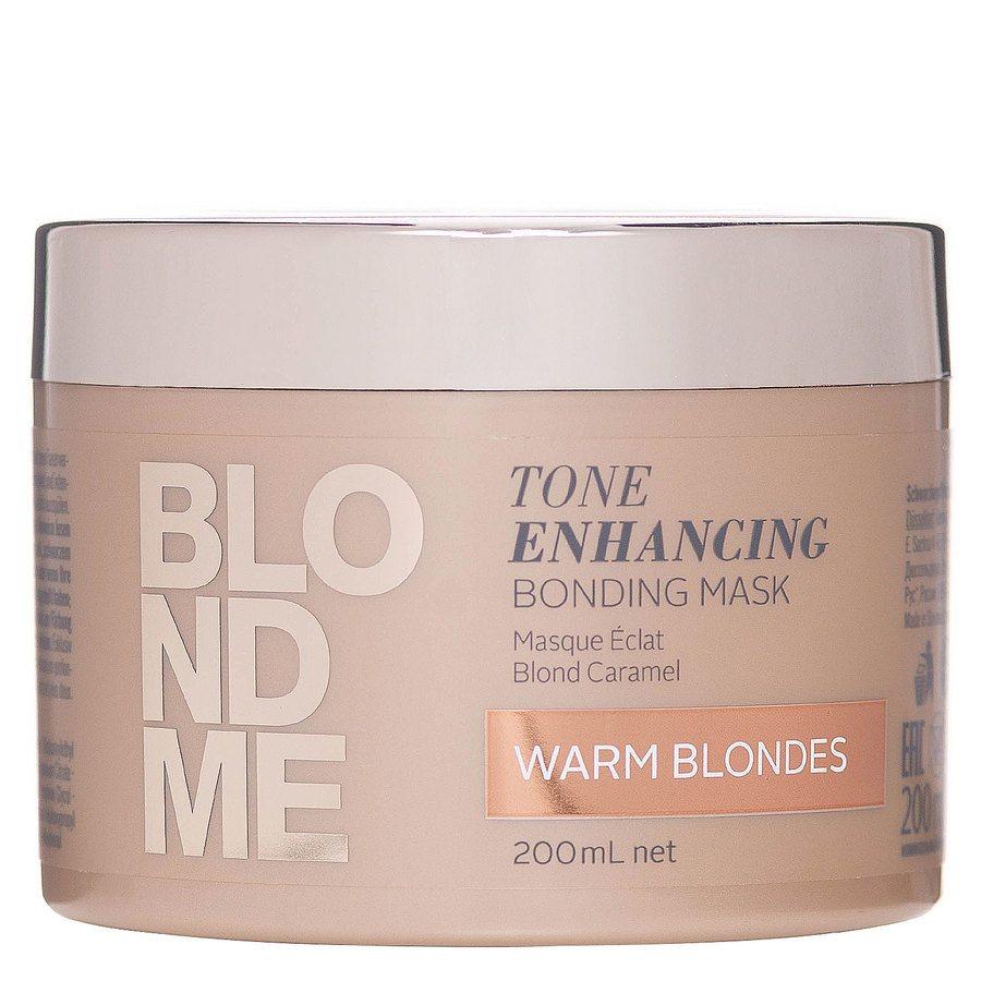 Schwarzkopf Blond Me Tone Enhancing Bonding Mask, Warm Blondes (200 ml)
