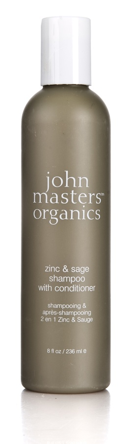John Masters Organics Zinc & Sage Shampoo with Conditioner (236 ml)