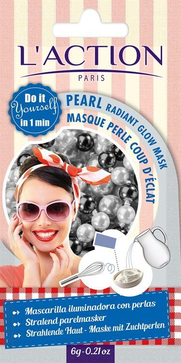L'Action Paris Pearl Radiant Glow Mask (10 g)