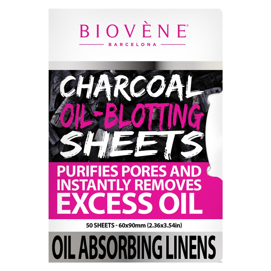 Biovène Charcoal Oil-Blotting Sheets (50 St.)
