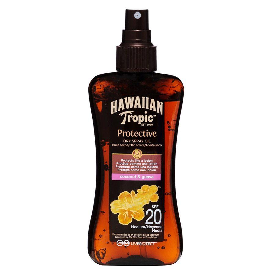 Hawaiian Tropic Protective Dry Oil Spray LSF20 (200 ml)