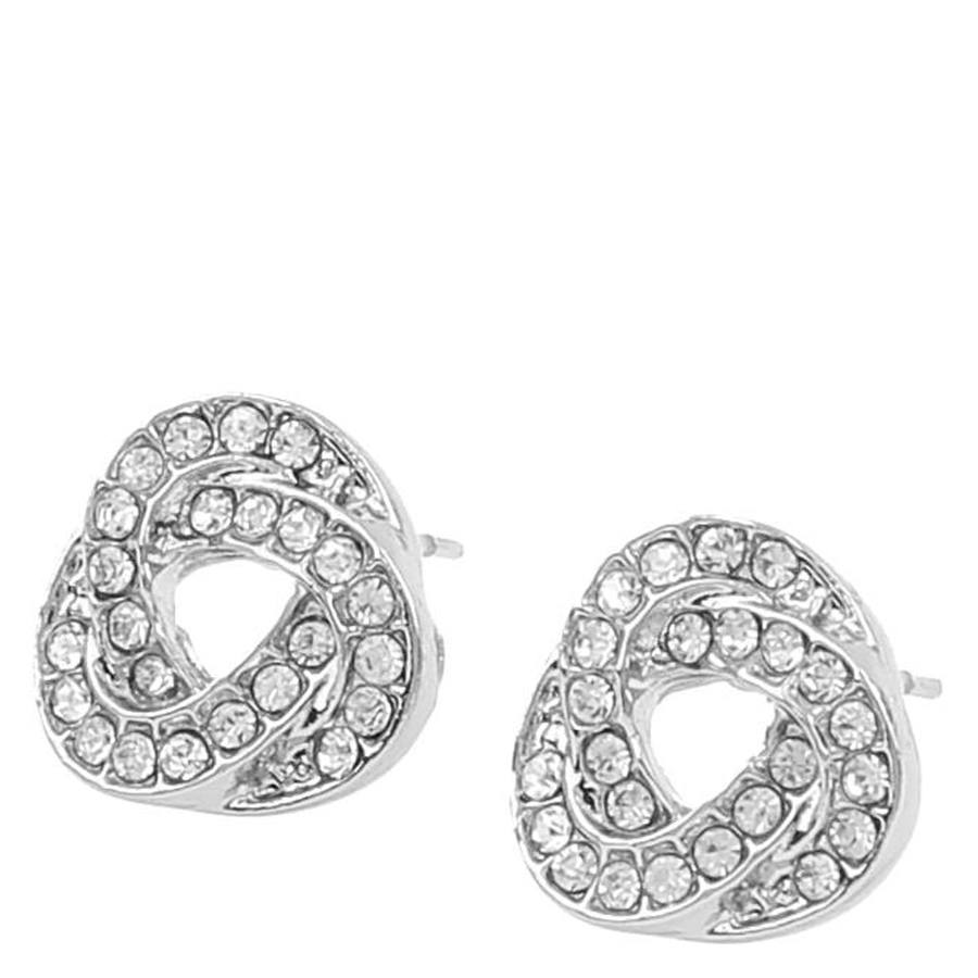 Snö Of Sweden Leonie Small Earring, Silver/Clear