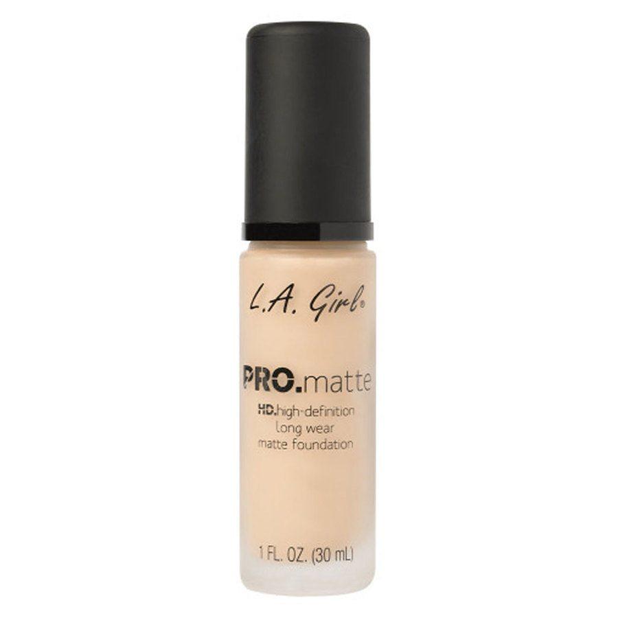 L.A. Girl Cosmetics Pro. Matte Foundation, Medium Beige (30 ml)