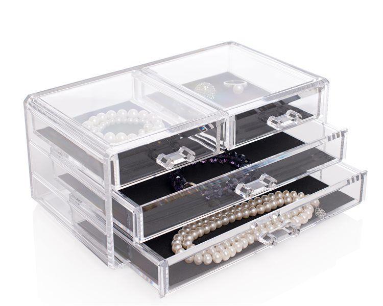 Shelas Jewellery Box – Schmuckkästchen mit vier Schubladen