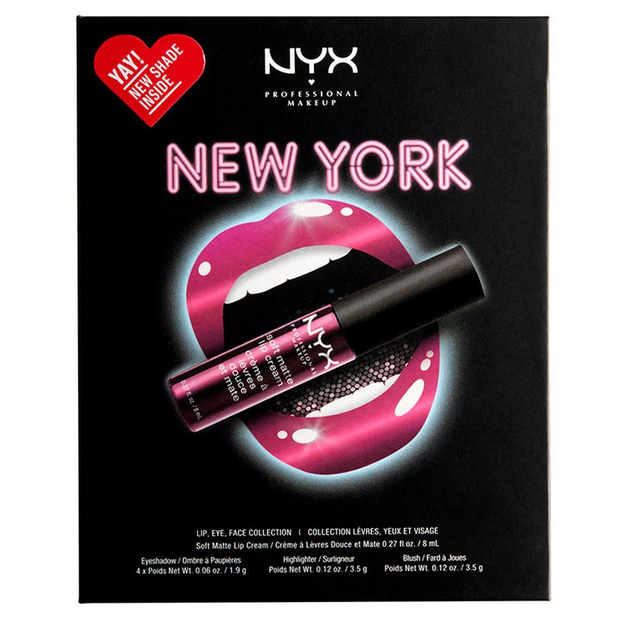 NYX Professional Makeup City Set New York