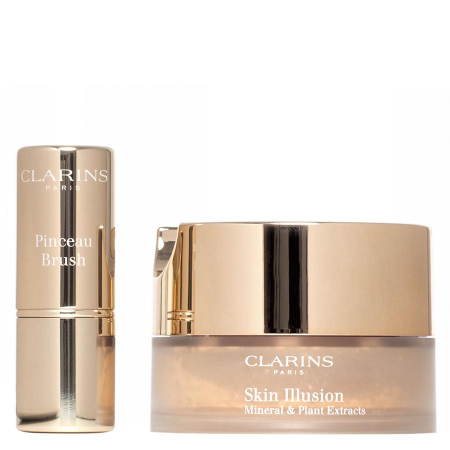 Clarins Skin Illusion Loose Powder Foundation, # 112 Amber (13g)