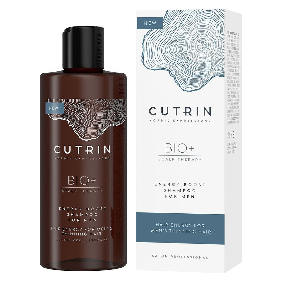 Cutrin BIO+ Energy Boost Shampoo for Men 250ml