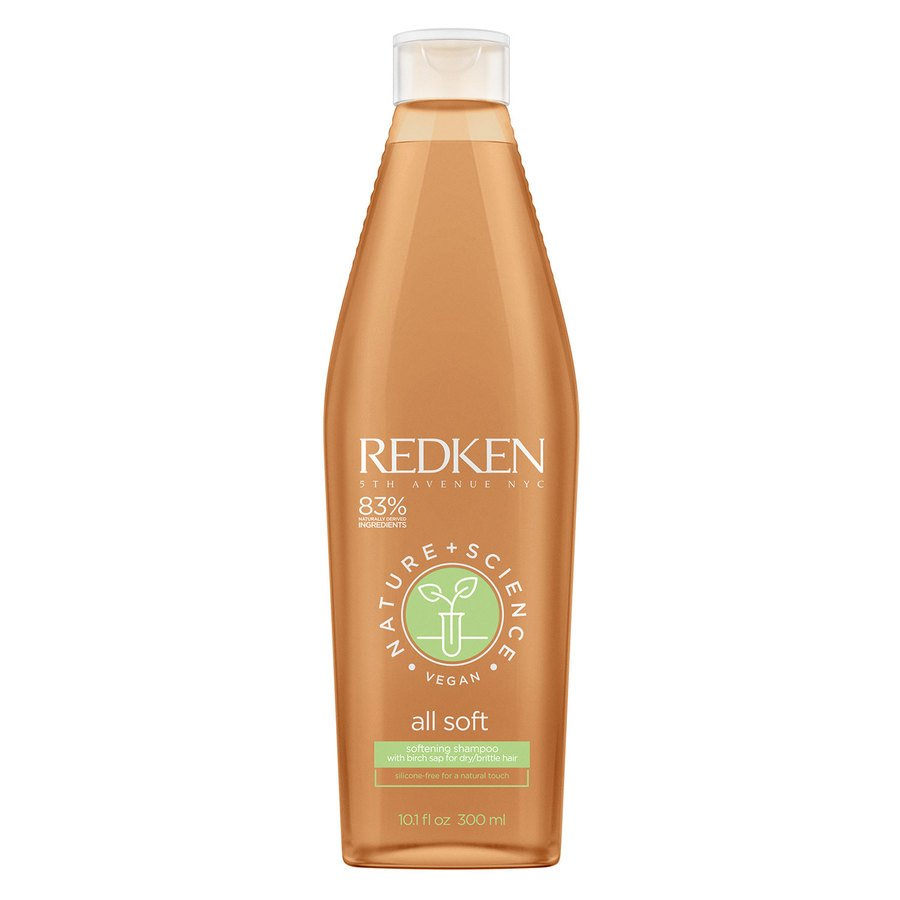 Redken Nature + Science All Soft Shampoo (300 ml)