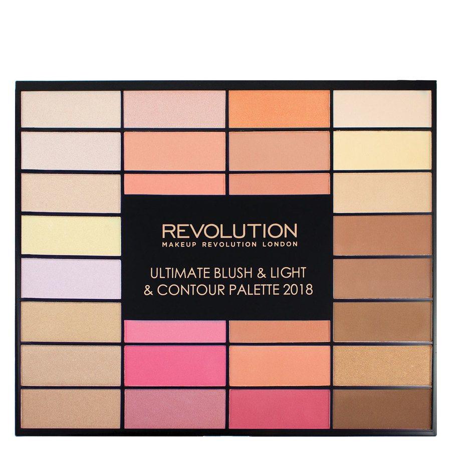 Makeup Revolution Blush, Light and Contour Palette